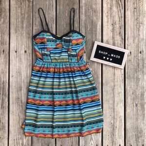 Xhilaration Aztec Print Dress